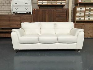 MARISSA 100% LEATHER WHITE Leumeah Campbelltown Area Preview