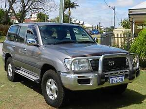 2003 Toyota LandCruiser Wagon GXL Turbo Diesel 100 Series Shelley Canning Area Preview