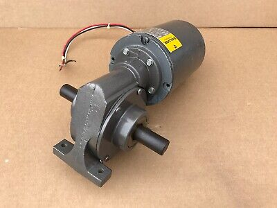 Baldor Gc9415 18hp Right Angle Gear Motor W Reducer Rpm 49- Made In Usa