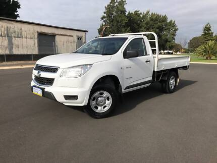 2013 Holden Colorado DX Sing/Cab Utility