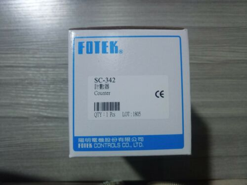 1pc  New  Fotek  Sc-342