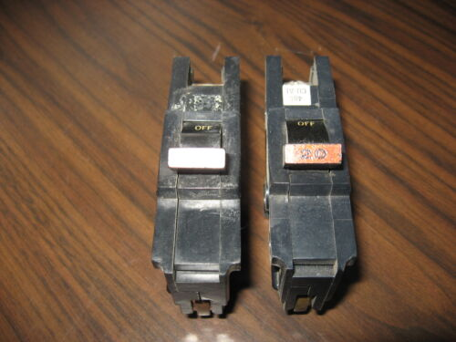 Lot of 2 Federal Pacific NA120 StabLok Circuit Breakers (Thick Style)