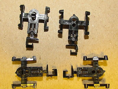 4 N SCALE FREIGHT TRUCK FRAMES WITH RAPIDO COUPLERS USE YOUR WHEELS OF CHOICE