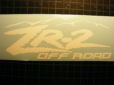 ZR2  Vinyl Decal, Chevrolet Blazer  S-10 (Chevy Blazer Decals)