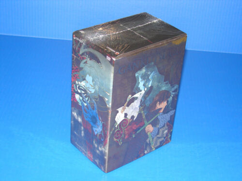 Gankutsuou: Count Of Monte Cristo - Le Box Set - Geneon 2007 - Anime Dvd - New