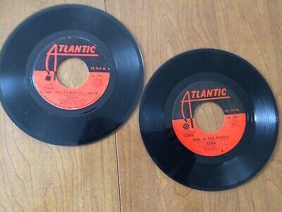 ABBA LOT OF 2 45S/ SOS/MAN IN THE MIDDLE 1975 & HONEY HONEY/DANCE 1974/ ATLANTIC for sale  Littleton