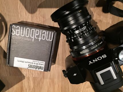 Metabones Leica m to e mount lens adapter Marmion Joondalup Area Preview