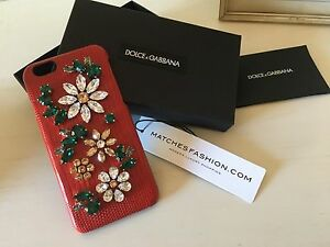 Dolce & Gabbana Crystal Embellished IPhone 6 Case Dalkeith Nedlands Area Preview