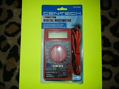 Newcen-tech 7 Function Digital Multi-tester Multimeter 69096dc-ac Voltage