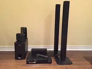 Samsung TV and Digital Home Theatre System
