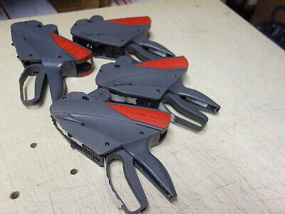 Lot Of 4x Meto 822 Price Labeling Gun
