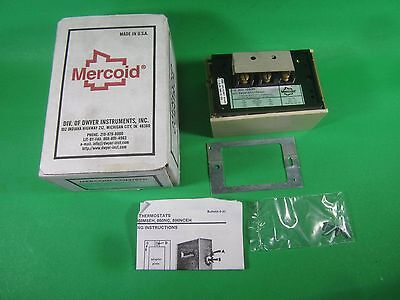 Mercoid Temperature Switch -- 860-153-65 -- New - Mercoid Temperature Switch