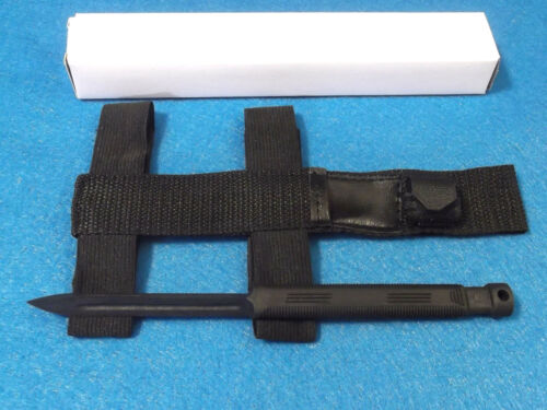 Black Legion BV427 Tri Spike non-metal 3 angle knife with arm / leg sheath NEW!