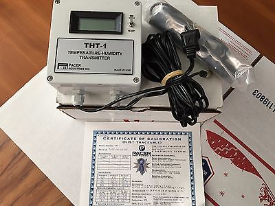 Pacer Tht-1 Temperature-humidity Transmitter With Sensor New Warranty