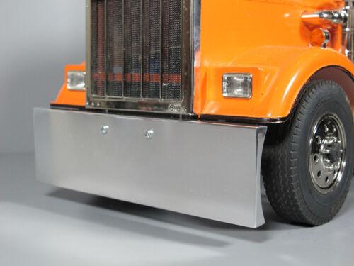 New Custom Aluminum A Polished Front Bumper Tamiya 1/14 King Grand Knight Hauler