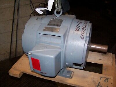 Westinghouse 15 Hp Electric Ac Motor 460 Vac 3510 Rpm 254t Frame 3 Phase