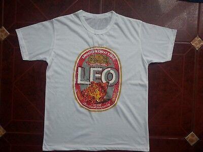 Leo beer Thailand men t shirt Cotton Popular tee Best Buy Online New - Buy Beer Online