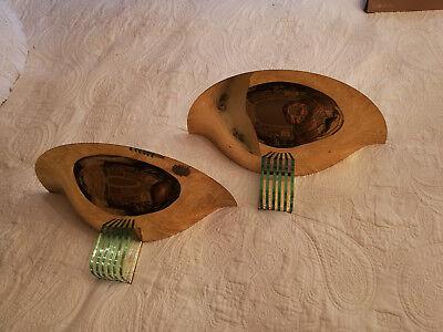 Murano von Prearo Italien, Design Pur, zwei Wandlampen absolut EDEL!!!