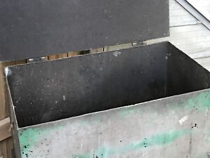 Steel carpart cleaning tub