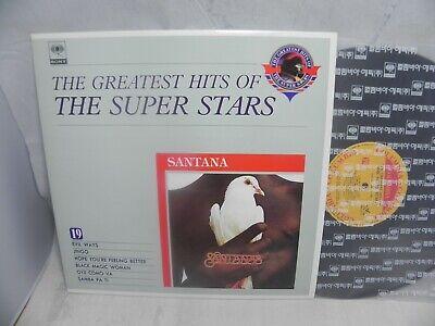 Santana - Greatest Hits 1991 Korea LP / The Super Stars Series