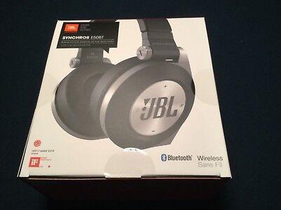 JBL  Synchros E50BT Bluetooth Wireless Headphones - Black - NEW SEALED, usado comprar usado  Enviando para Brazil