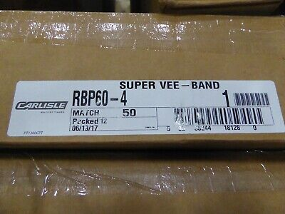 Carlisle Super Vee Band Belt Rbp60-4