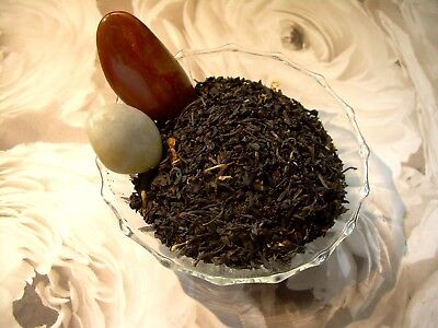 Naturally Flavored Black Tea - Black Currant Loose Leaf Aged Asian Black Tea Blend Pure & Naturally Flavored