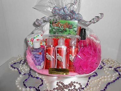 Ladys Cherry Blossom Gift Basket Any Occasion