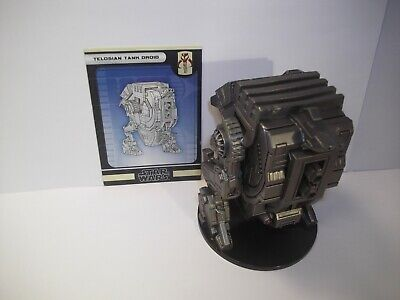 Star Wars Miniatures - Telosian Tank Droid 57/60 - Huge - Force Unleashed