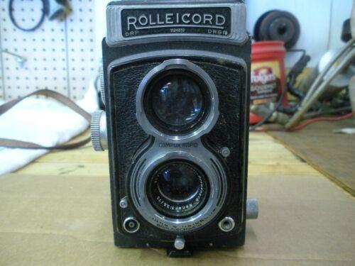 Vintage Rolleicord Reflex Camera
