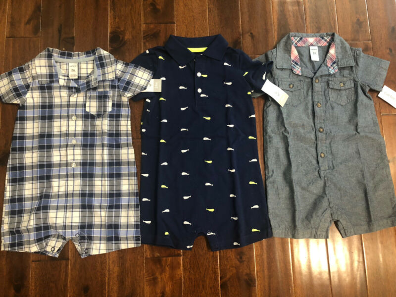 3 Piece Lot Of Baby Boy Spring/Summer Clothes Size 24 Months NWT