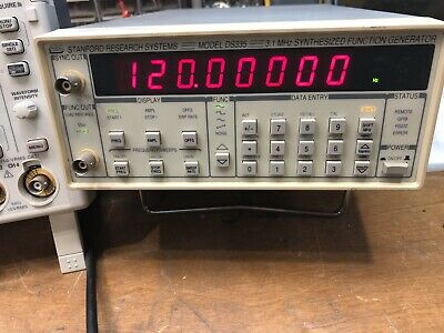 Stanford Research Ds335 3.1 Mhz Synthesized Function Generator