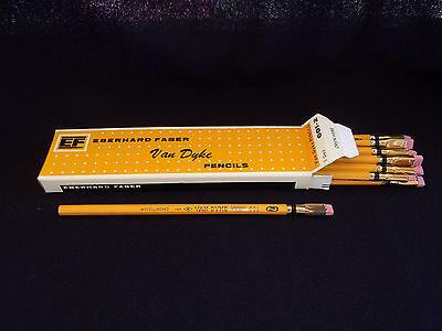 2 Eberhard Faber Van Dyke 601 #2  Pencil with Blackwing Eraser