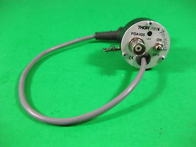 Thorlabs Amplified In Ga As Detector 10mhz Bandwidth -- Pda400 -- Used