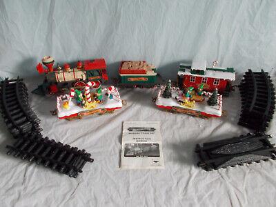 New Bright Santa Land Musical Christmas Train Set