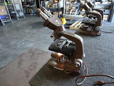 Swift Srbl Microscope W 3 Objectives 4x 10x 40x 10x Eyes Working Lamp