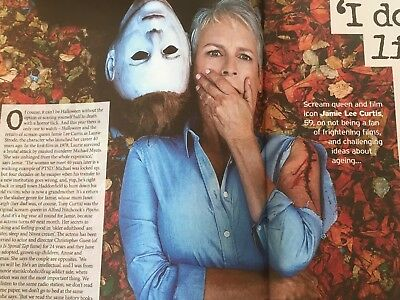 UK Notebook Magazine October 2018: HALLOWEEN Jamie Lee Curtis ALFIE - Uk Holidays Halloween