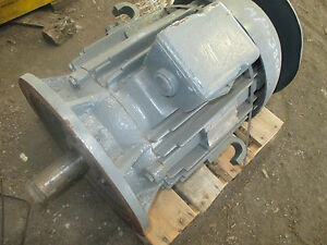 Allis Chalmers Electric Motor Vertical 30hp 3450rpm 286lph