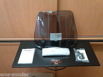 Windschutzscheibe Peugeot SV 50-80-125 Windschild Puig Getönt Smoke ABE NEU