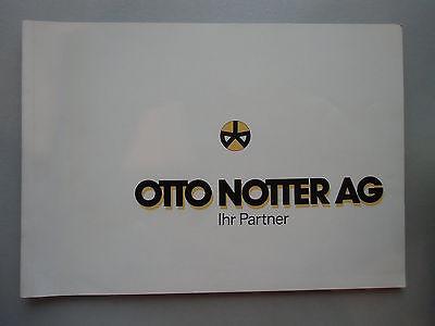 Oto Notter AG Ihr Partner Wir bauen Handel Industrie Bildung ... Architektur