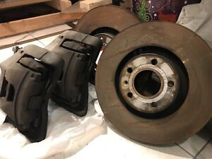 Complete front brake kit from audi a4 b7