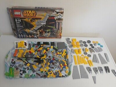 LEGO Star Wars Naboo Starfighter 75092 FOR PARTS No instructions See photos