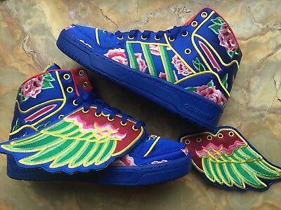 Original Adidas JS WINGS CNY (q21475) size 8 Jeremy Scott Rare / Limited
