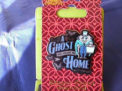 Disney * HAUNTED MANSION - A GHOST WILL FOLLOW YOU HOME * New Trading Pin