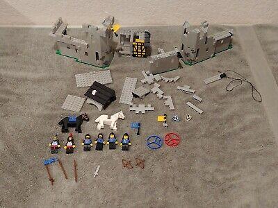 Lego Black Falcon's Fortress (6074) incomplete - includes all minifigs