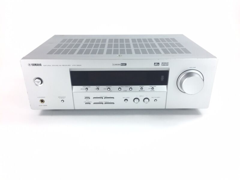 YAMAHA Natural Sound 5.1 Channel Home Theater AV Receiver HTR-5930 No Remote