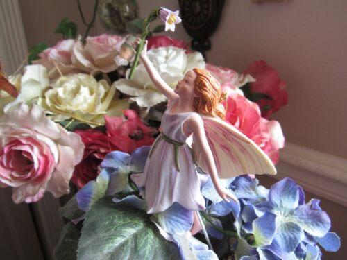 Cicely Mary Barker HAREBELL Flower Fairy Ornament Figurine RETIRED!  #87030