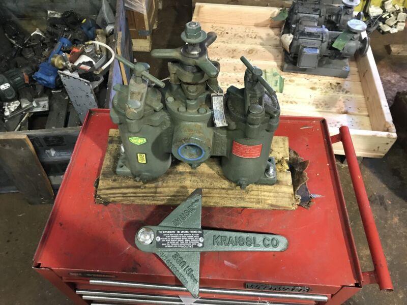 Kraissl Company Model 72-37-9 Twin Filter Strainer