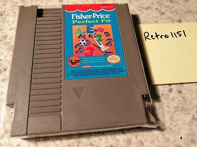 Fisher-Price: Perfect Fit (Nintendo Entertainment System, 1990)