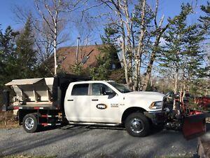 2016 ram 3500 plow truck, dump truck